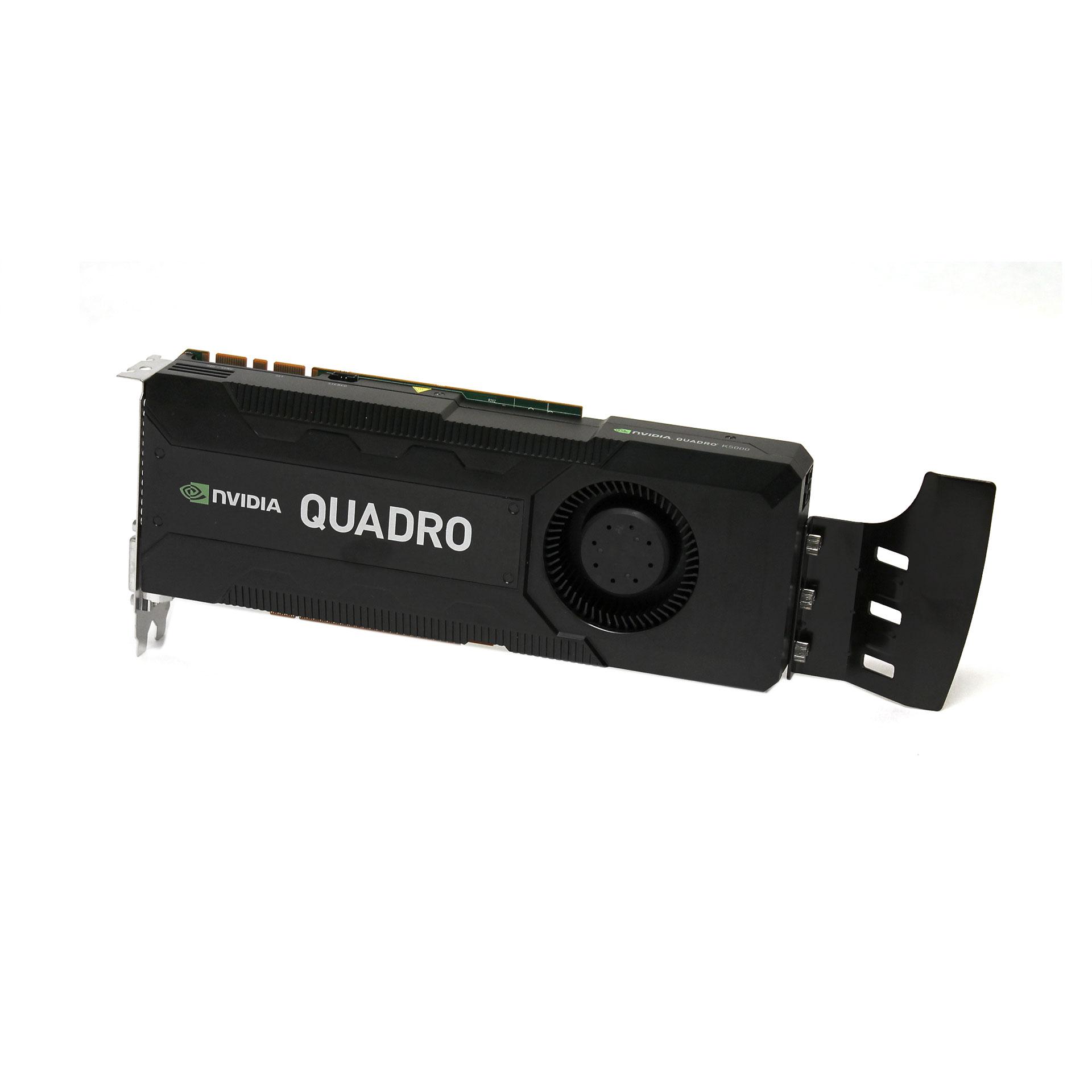nVidia Quadro K5000 4GB PCIe Video Card HP 699126-001 701980