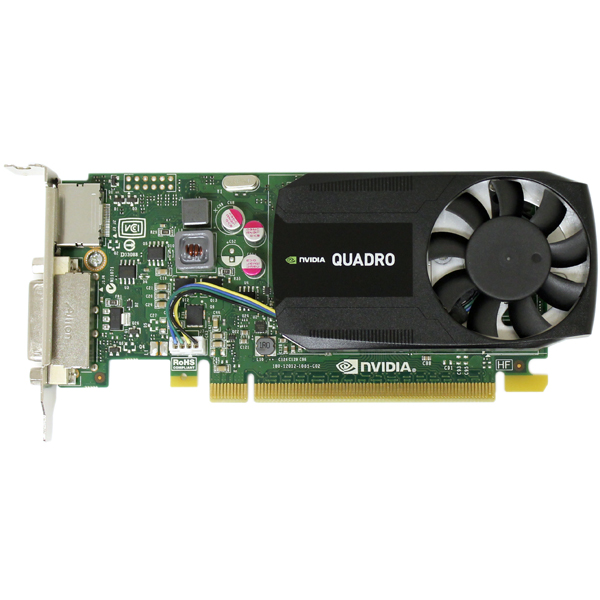 IBM Nvidia Quadro K620 Video Card 2GB DDR3 PCI-E 2.0 x16 00FC809