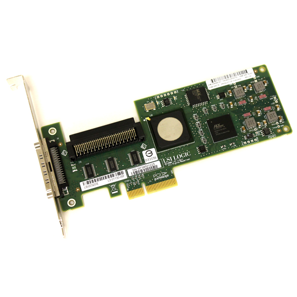 HP LSI20320IE PCIe SCSI Host Bus Adapter Controller 439946-001