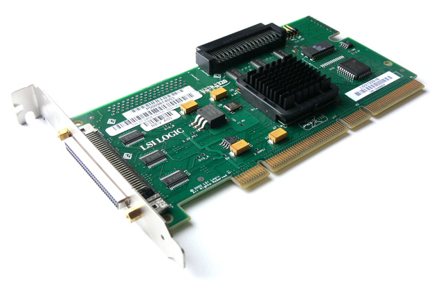 LSI 21320-IS Ultra 320 PCI-X 2 CH SCSI Controller Dell 3x344
