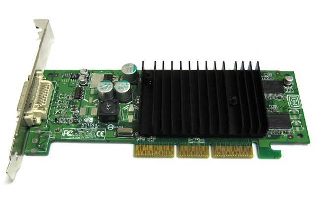 PNY nVidia Quadro NVS 50 64MB DDR DVI AGP 8x Video Card