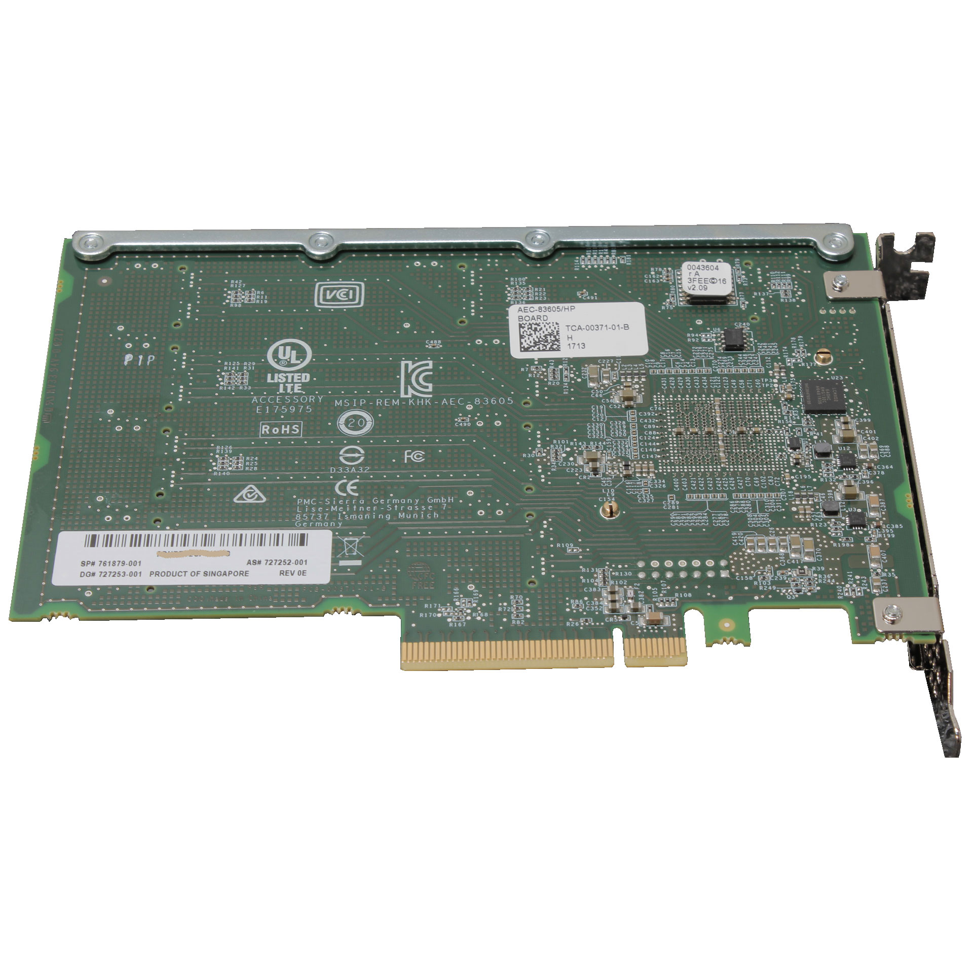 HP 761879-001 SMART ARRAY 12GB PCI-E 3 X8 SAS EXPANDER CARD