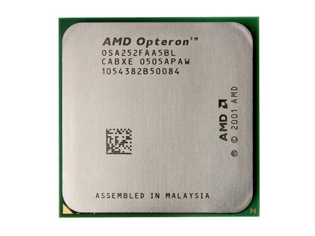 AMD Opteron 252 2.6GHz Processor/CPU Socket 940 OSA252FAA5BL