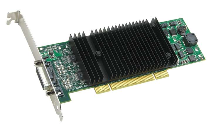 Matrox P69-MDDP256LAUF PCI 256MB up to 4 Monitor LP Video Card