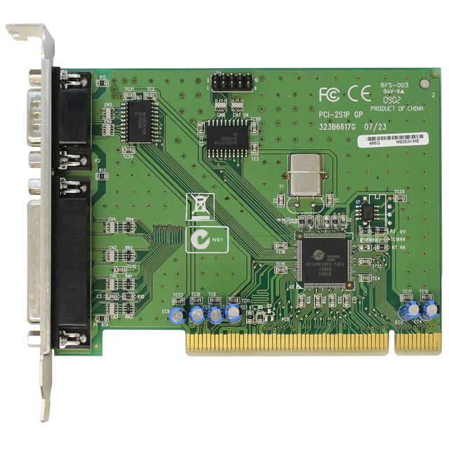 HP PCI-2S1P Serial Parallel Port Adapter 321722-001 320302-001