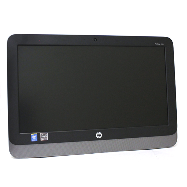 "HP G5R37UT ProOne 400 G1 19.5"" 3.1 GHz 4GB RAM All-In-One"