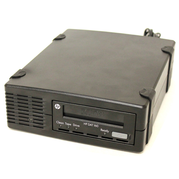 HP DAT 160 Smart Buy StorageWorks USB External Tape Drive Q1581B