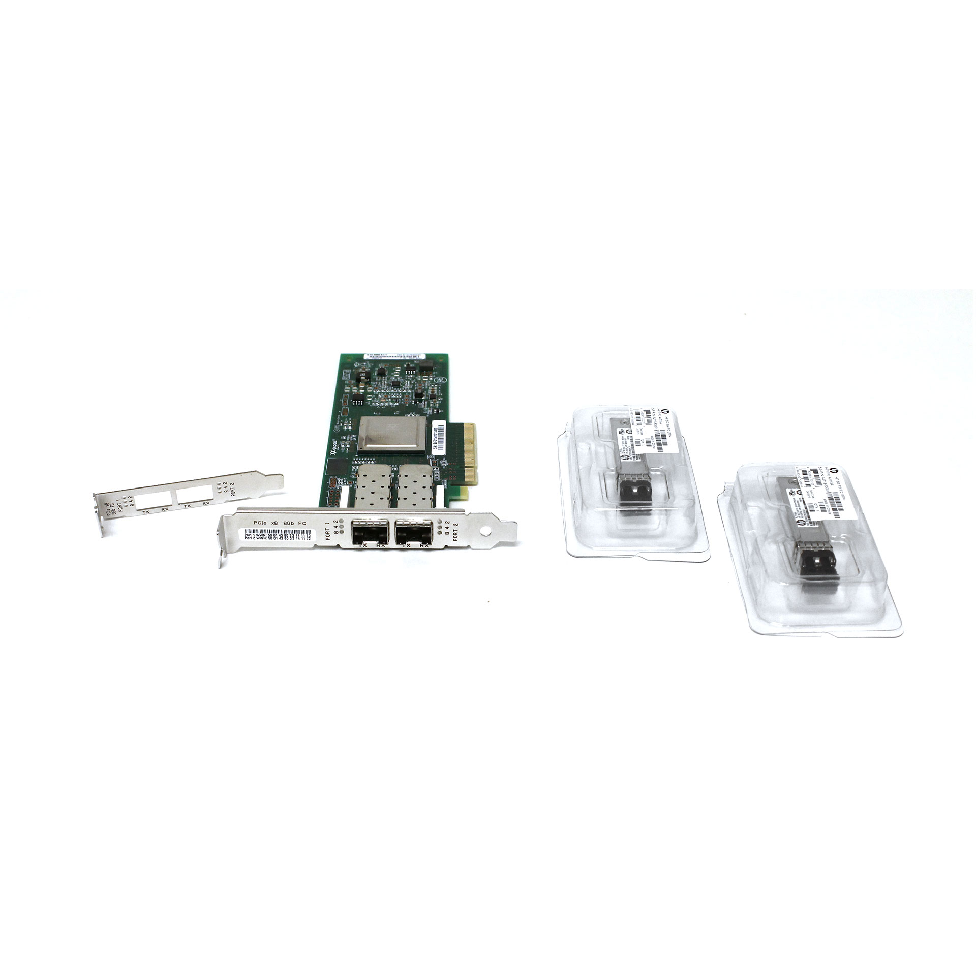 Qlogic QLE2562 Dual Port 8GB Fibre Channel PCIe Host Bus Adapter