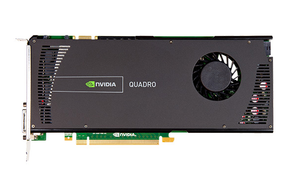 nVidia Quadro 4000 2GB GDDR5 x1 Video Card V2 Dell 731Y3