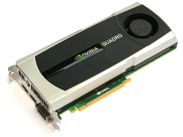 nVidia/HP Quadro 5000 2.5GB GDDR5 Video Card WS096AA WS096AT
