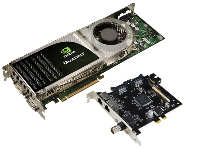 NVIDIA Quadro FX 5600G 1.5GB Video Card GSync 2 Interface Add-On