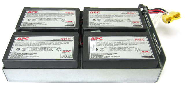 APC RBC24 Replacement 4 Battery Cartridge #24 For UPS