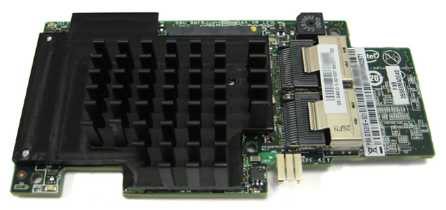 Intel RMS25CB080 6Gb/s SAS/SATA Integrated RAID Module Card