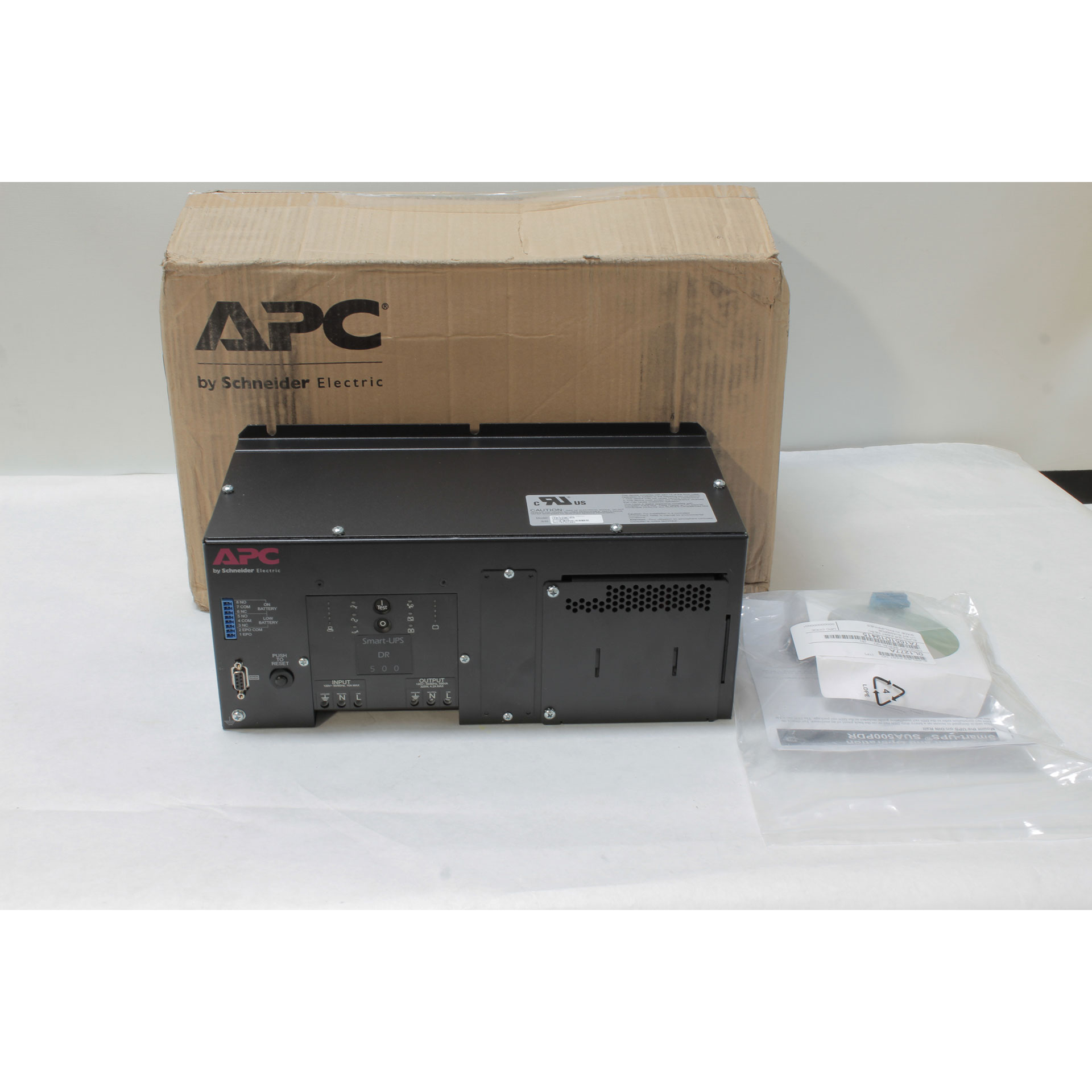 APC Smart-UPS SUA500PDR DIN Rail Panel Mount 500VA NO Battery