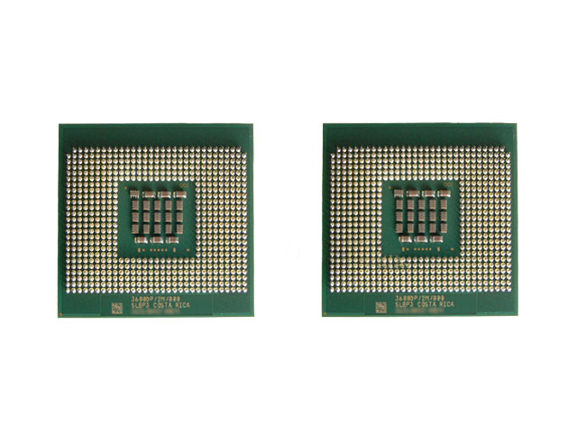 Pair (2) Intel Xeon 3.4 GHz/800MHz/1MB CPU Processors SL7PG Two