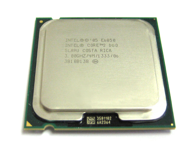 Intel Core 2 Duo Dual Core 3GHz/4MB/1333 FSB E6850 Processor