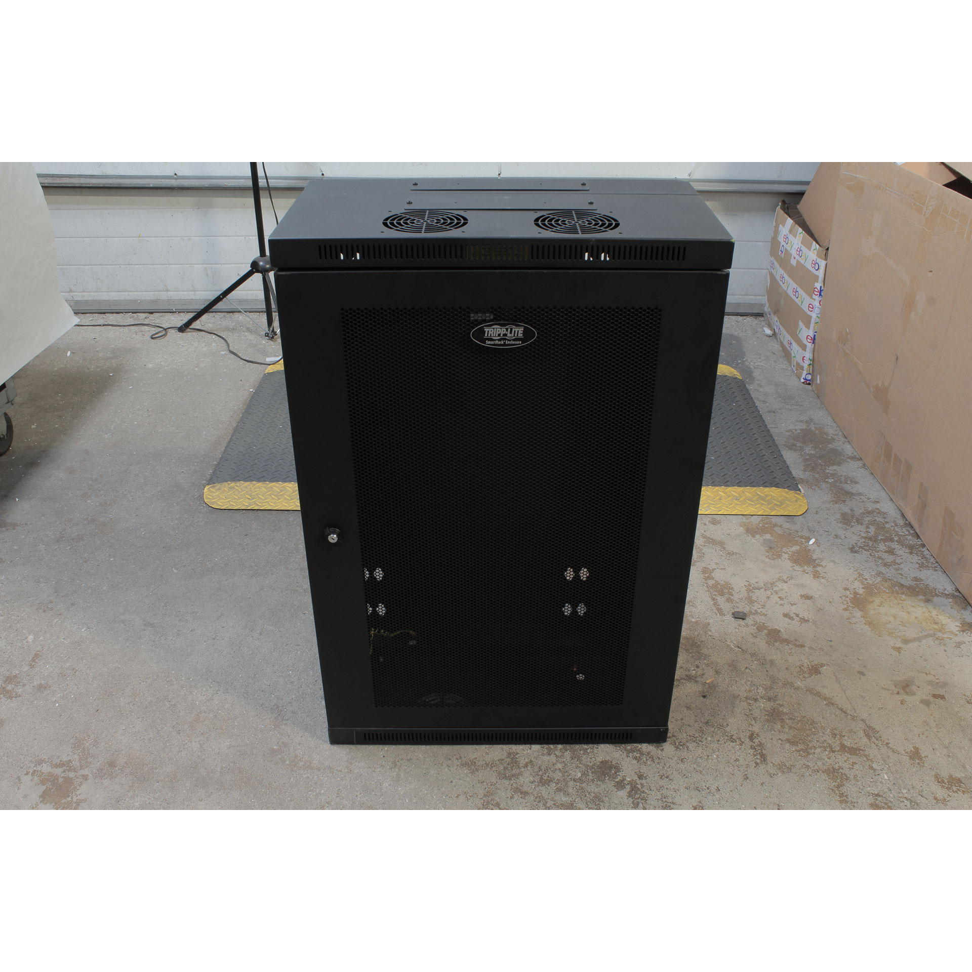 "Tripp Lite 18U Wall Mount Rack Enclosure Hinged 13"" SRW18US13"