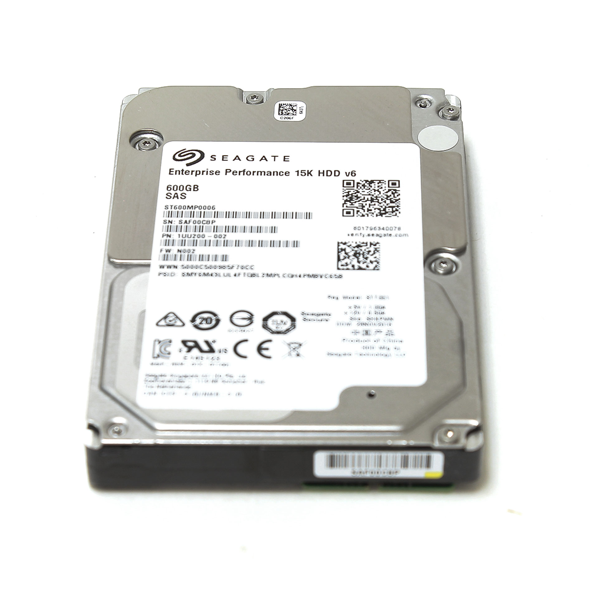 "Seagate Enterprise 600GB ST600MP0006 15K RPM SAS 2.5"" 1UU200-002"