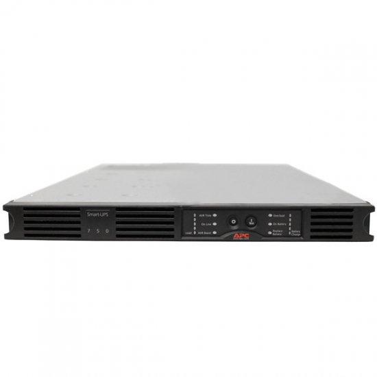 APC Smart-UPS SUA750RMI1U 4 Outlets 750VA 480W USB Rack-Mountabl