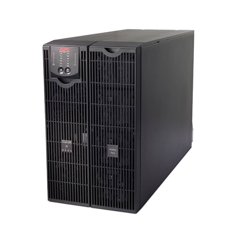 APC Smart-UPS On-Line SURT8000XLT 8000 VA 6400 Watts 4 Outlets