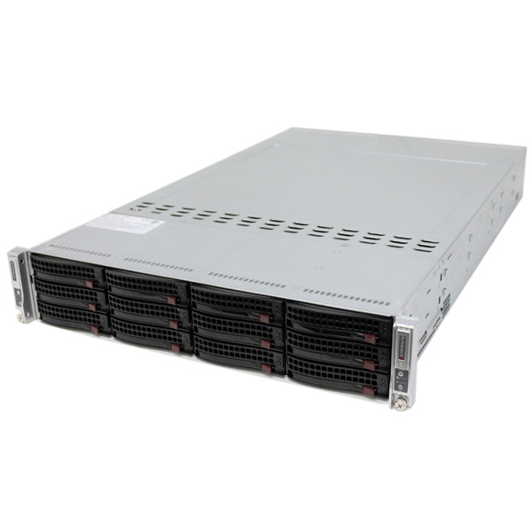 Supermicro SYS-6027TR-DTRF Server Barebone 2U Two Nodes LGA2011