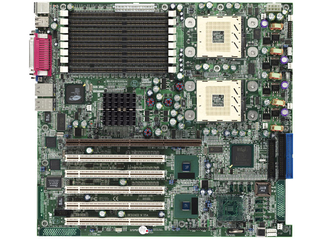 Supermicro P4DPE Server Motherboard Dual Intel Xeon IDE 603