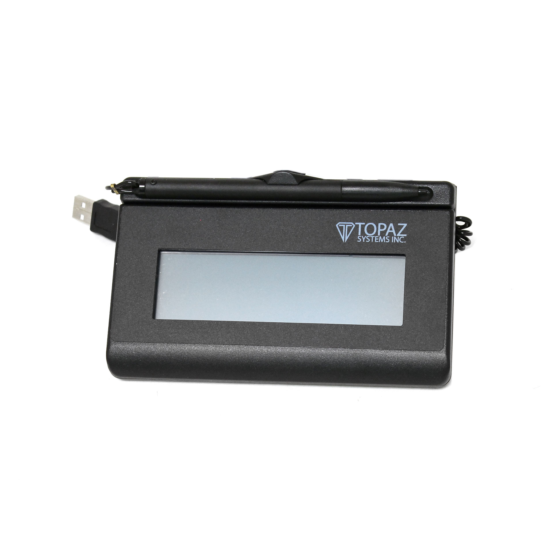 Topaz SigLite T-LBK460-HSB Wired Signature Terminal LCD Display