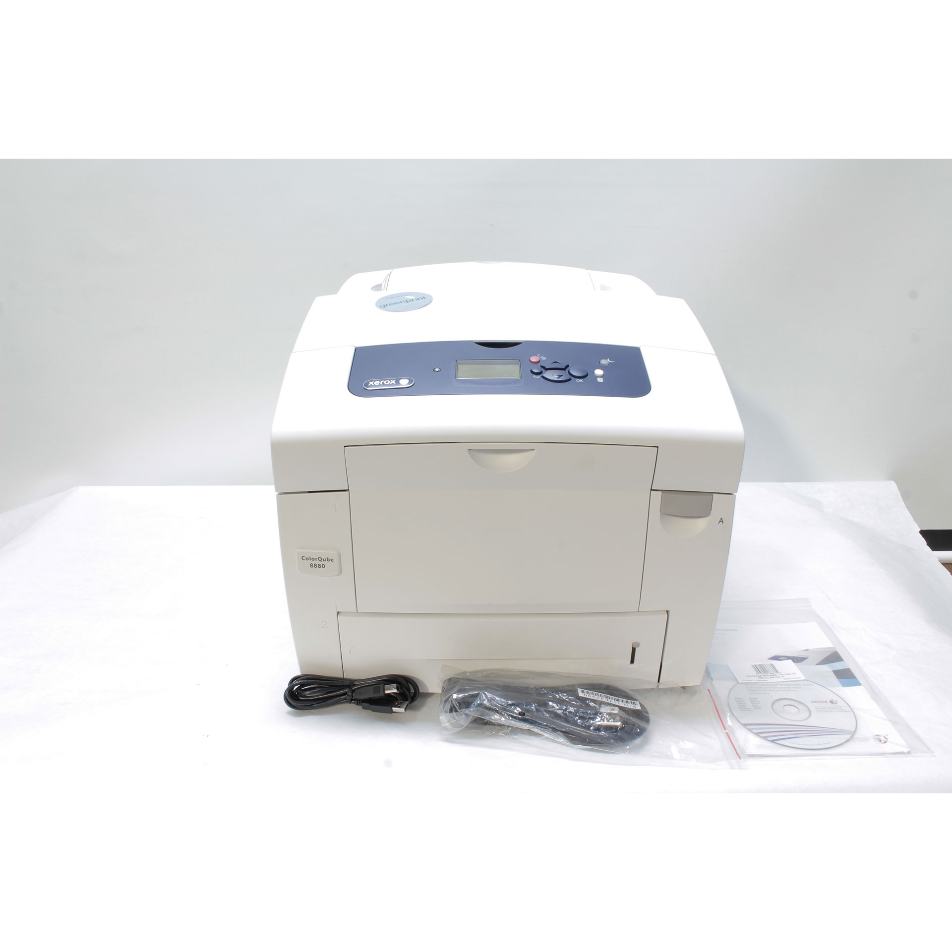 Xerox ColorQube 8880/DN Color Solid Ink Printer IPv6 51 ppm