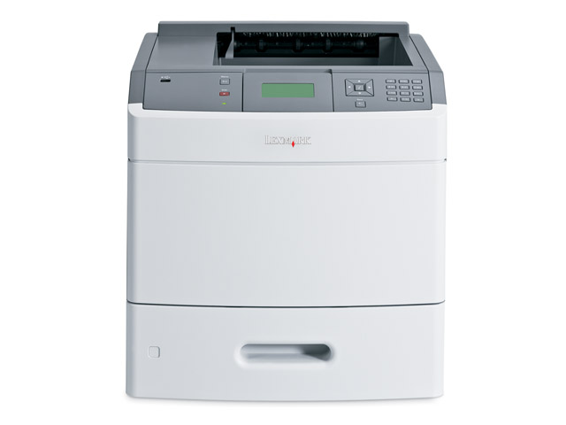 Lexmark T 654n B/W Laser printer - 53 ppm - 650 sheets