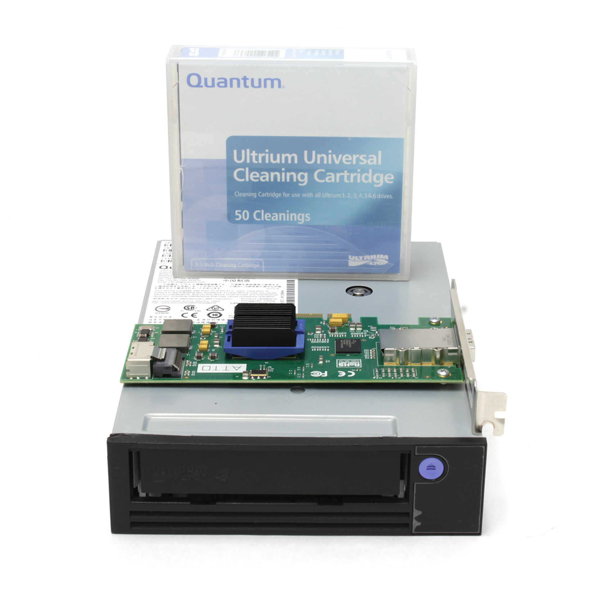 Quantum LTO-4 Model C Data Tape Drive 12X5245 TC-L42AN-EZ-C SAS