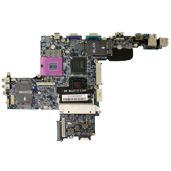 Dell TT543 Socket P PGA 478 Motherboard for Latitude D630