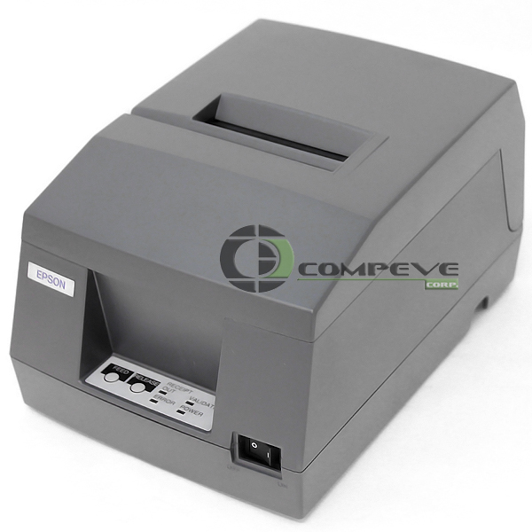 Epson TM-U325D POS USB Monochrome Dot Matrix Receipt Printer