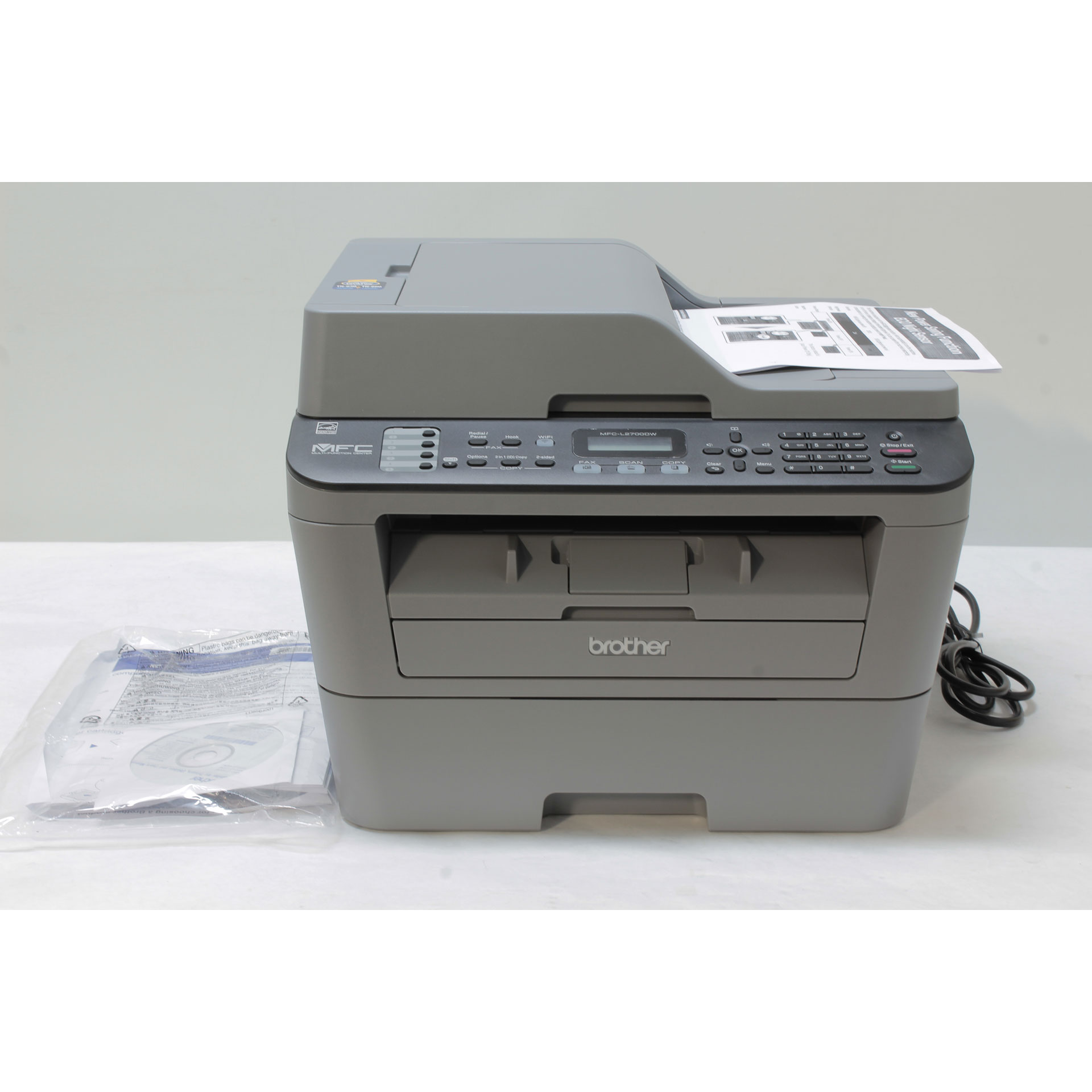 Brother MFC-L2700DW A4 Wireless All-in-One Laser Printer