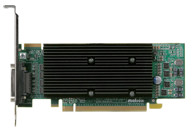 Matrox M9140 512MB PCIEx16 Quad Monitor Video Card M9140-E512LAF