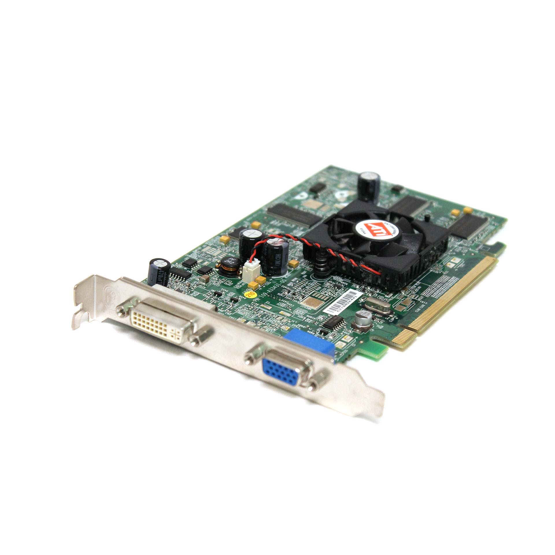 Dell 8964 ATi V3100 128MB PCI-e Video Card P9222 DVI-VGA Card