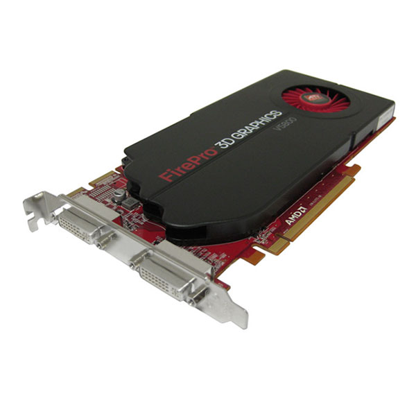 AMD FirePro V5800 1GB Dual DVI PCI-e 100-505682 Graphics Card