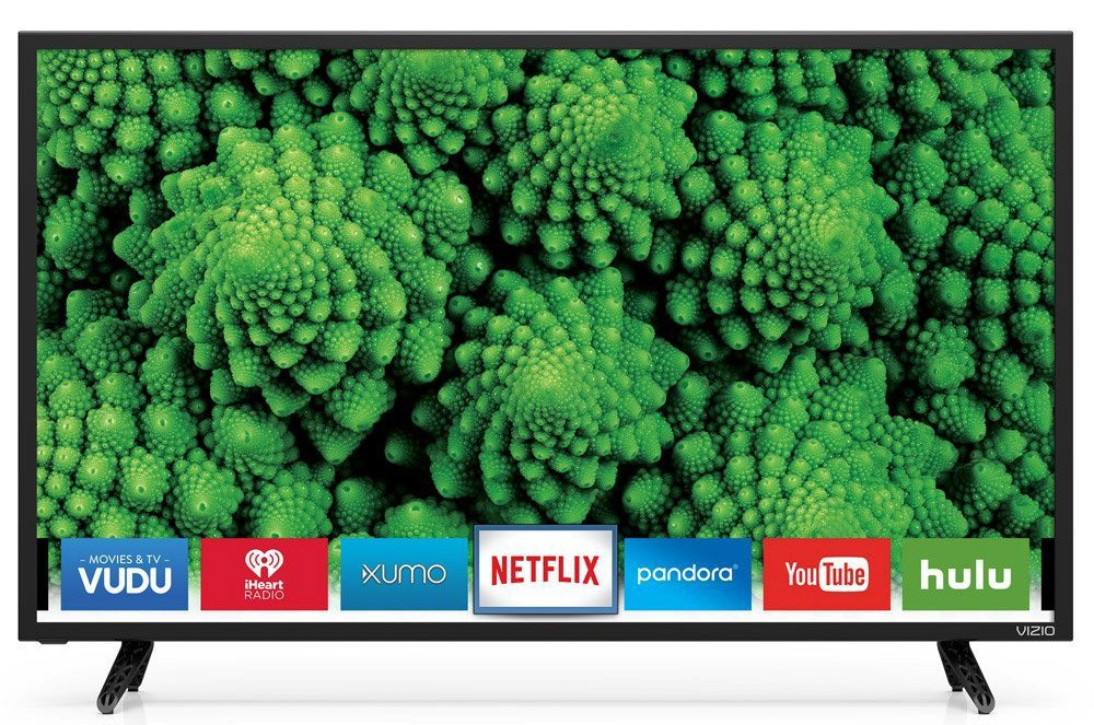 "VIZIO D-Series D32f-E1 32"" LED full-array Smart HDTV 1080p"