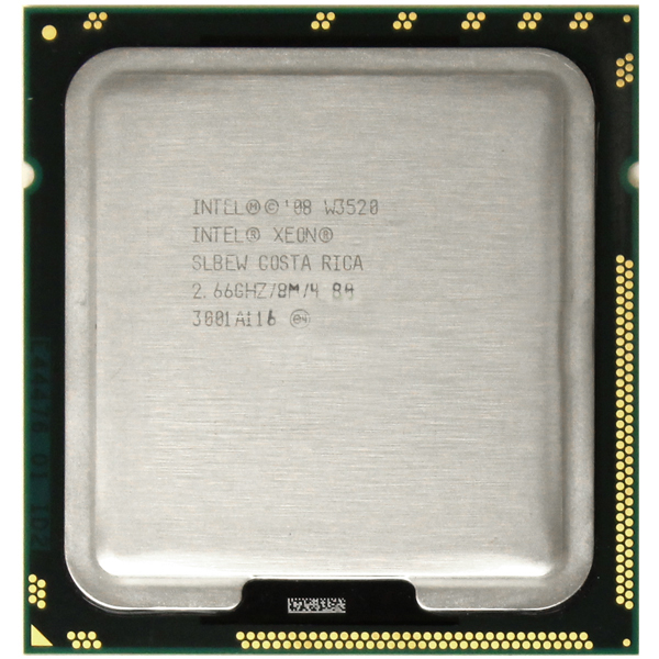 Intel Xeon W3520 Quad Core 2.66GHz 8MB Cache 4.80 GT/s LGA1366