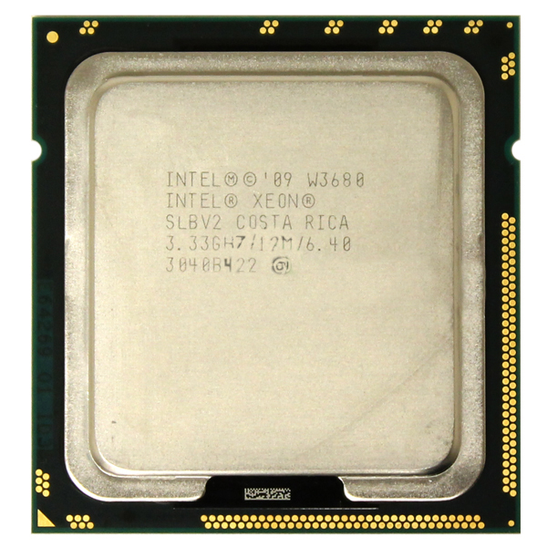 Intel Xeon W3680 12MB 3.33 GHz LGA1366 Processor SLBV2