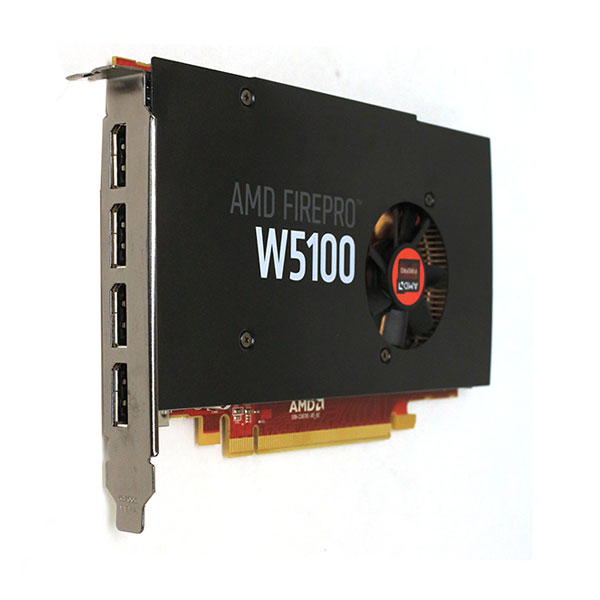 4K AMD FirePro W5100 4GB 128-bit PCI-e 3.0 x16 Video Card W2C47