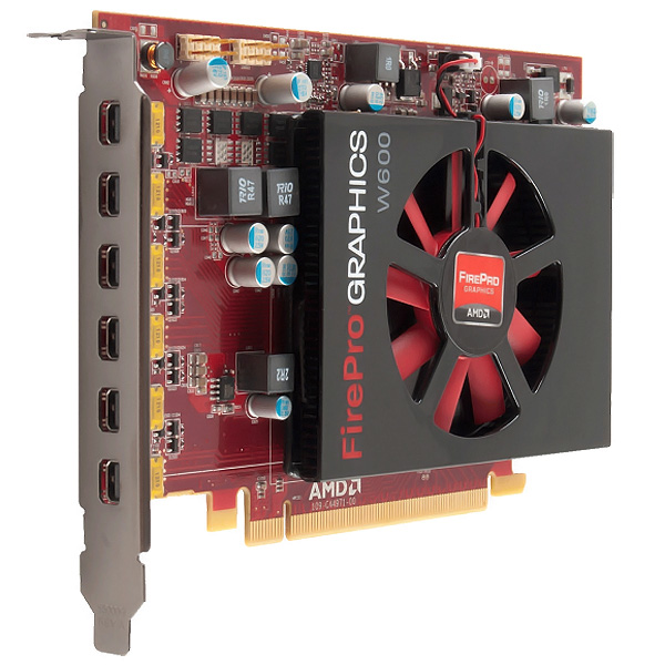 ATI FirePro W600 2GB PCI-E 6 Monitor Video Card 100-505746