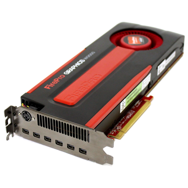 AMD FirePro W9000 6GB GDDR5 6x Mini DP Video Card 100-505859