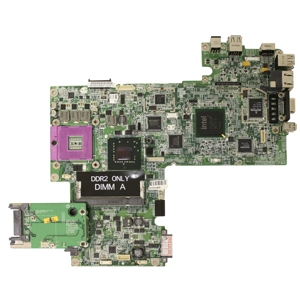 Dell WP043 SocketP PGA478 Motherbaord System Board Inspiron 1520