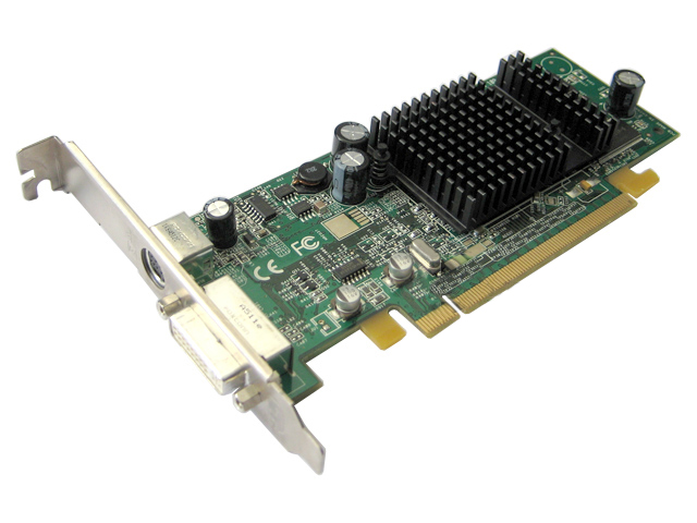 ATI Radeon X300 PCI-E Dell J3887 Video Card 102A2601100