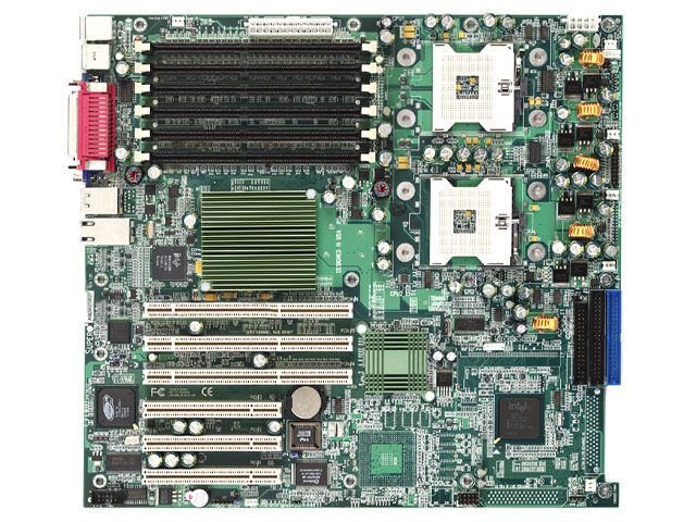 Supermicro X5DPL-iGM Server Motherboard Dual Intel Xeon IDE 604