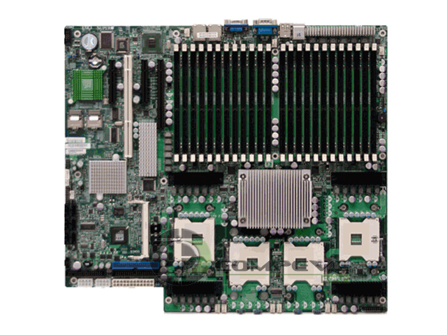 SuperMicro X7QCE Server Motherboard SATA 4 CPU 6-core Sockets