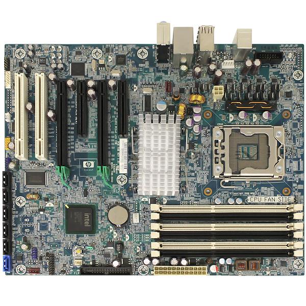HP Z400 Systemboard Intel 1333MHz LGA1366 586968-001 586766-002