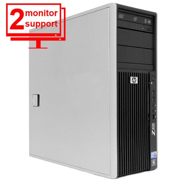 HP Z400 Workstation 2.53Ghz W3505 Xeon 4GB 80GB Quadro FX1500 Win10