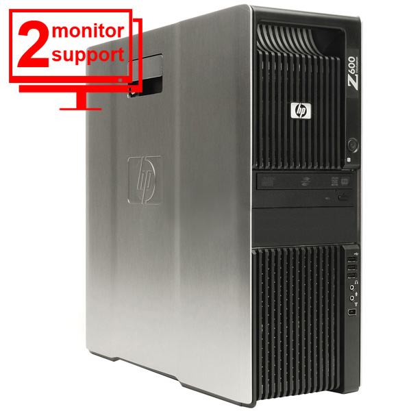 HP Workstation Z600 Intel Xeon E5506 2.13Ghz 6GB 160GB NVS295