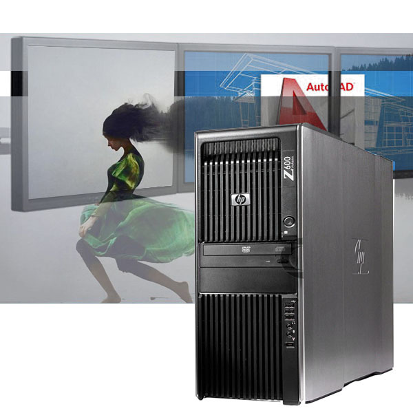 HP Z600 CAD Workstation 256GB SSD+ 4TB HDD/ 24GB / Quadro M2000